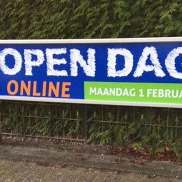 Online open dag 1 februari