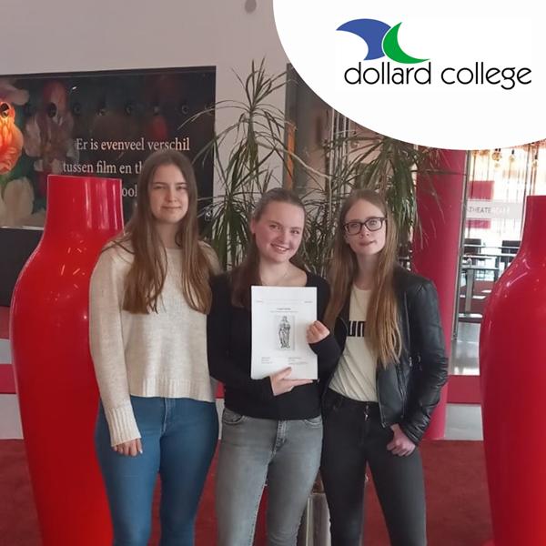 Leerlingen Hommesplein genomineerd voor de Marie Loke profielwerkstukprijs 2021!