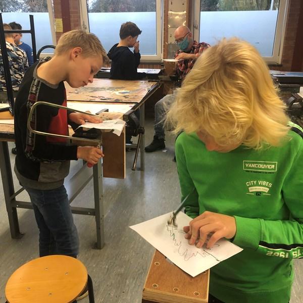St. Willibrordusschool op bezoek voor techniek