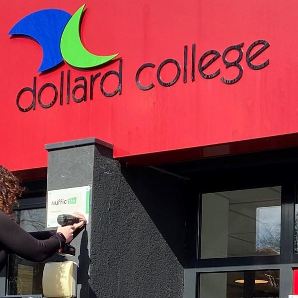 Dollard College, vestiging Hommesplein Winschoten, mag zich Erkende Junior tto school noemen
