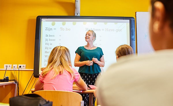 Kennismaken met een nieuwe school