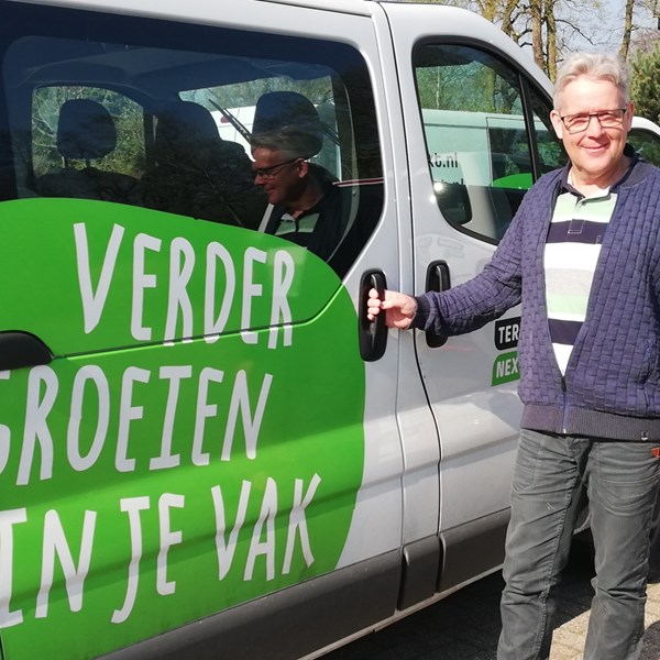 Vakman TerraNext: Fonger van Veenen, afdelingsdirecteur