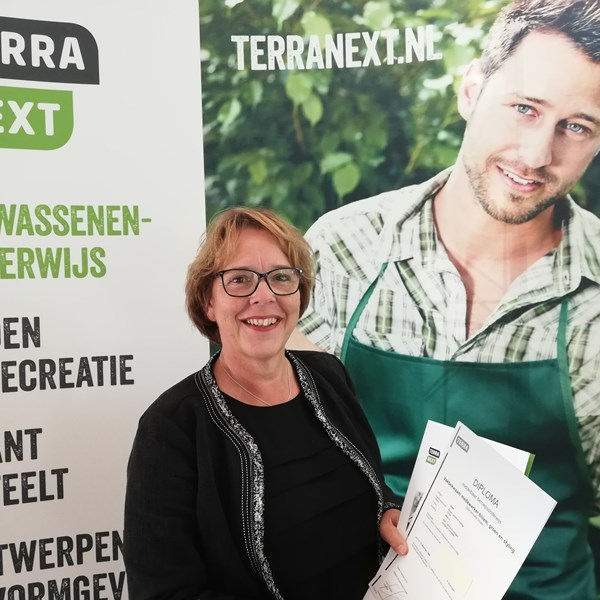 Vakvrouw TerraNext: Gerda Sieben, administratief medewerkster