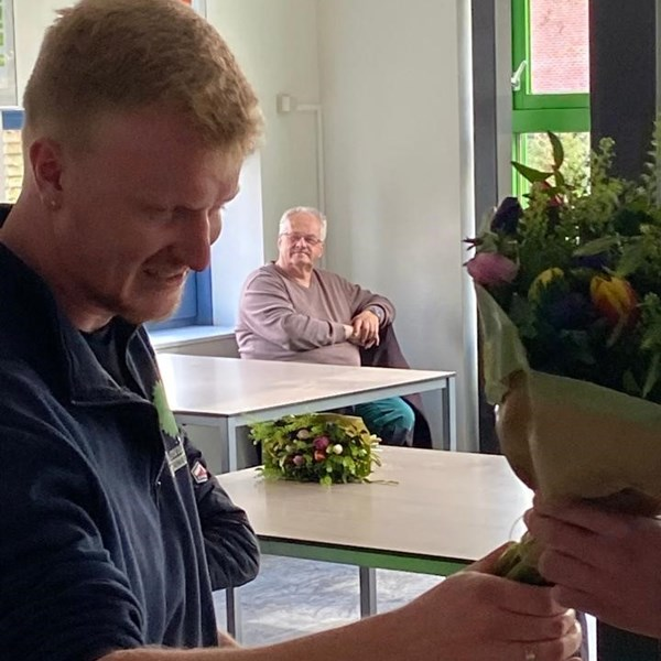 Interview met student Martijn Poel,  'Wat als je niet kunt kiezen tussen het vak van hovenier of docent? Dan doe je het gewoon beide!'